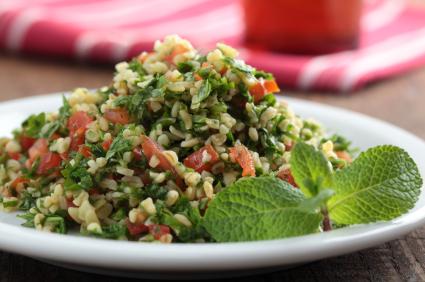 Tu B'Shevat Salad With Pomegranate Dressing Recipe — Dishmaps