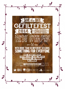 Gefiltefest: London Jewish Food Festival @ London Jewish Cultural Centre, Ivy House | United Kingdom