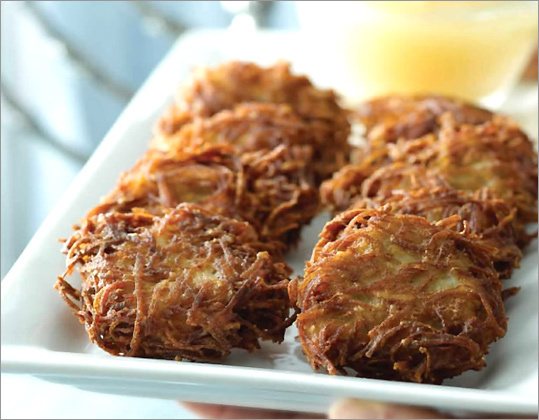 Chanukah - Potato Latkes - Jewish Vegetarian Society