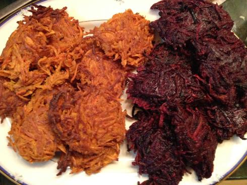 Carrot-and-Beet Latkes Recipes — Dishmaps