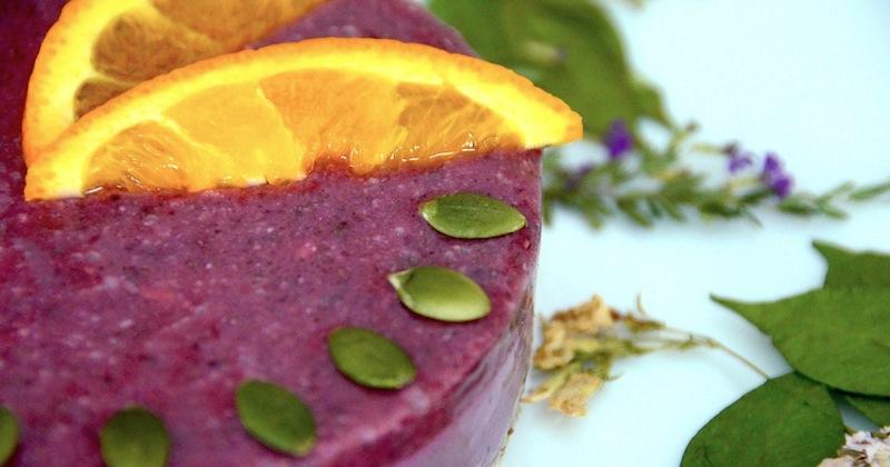 Tu B'Shevat: Raw Pomegranate & Maqui Cheesecake - Jewish Vegetarian ...