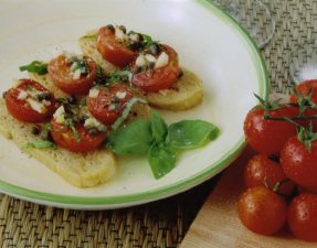 JVS image - Hot Tomato Salad