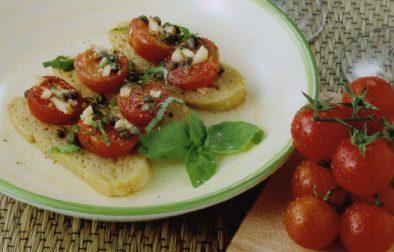 JVS image - Hot Tomato Salad