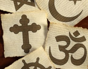 JVS image - world religions (symbols)