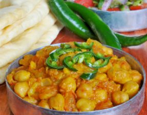 JVS image - Chickpea Curry