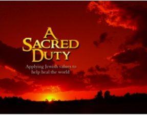 JVS image - A Sacred Duty