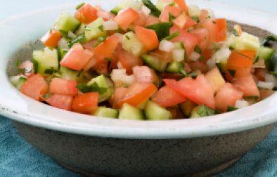 JVS image - Classic Israeli salad