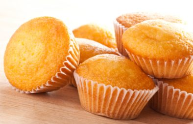JVS image - Rosh Hashanah Golden Syrup Cup Cakes