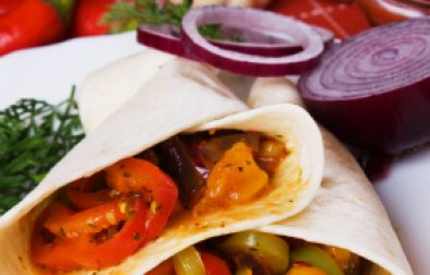 JVS image - Vegetable and Mixed Bean Burritos