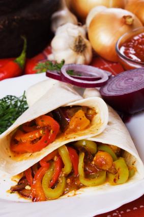 JVS image - Vegetable and Mixed Bean Burritos