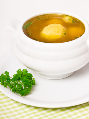 JVS image - Vegetarian 'Chicken' Soup
