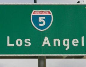 JVS image - Los Angeles road sign