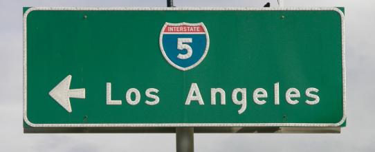 Afbeeldingsresultaat voor Los Angeles road sign