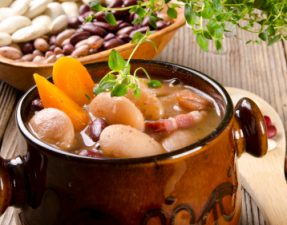 JVS image - Mixed Bean Cholent with Tempeh