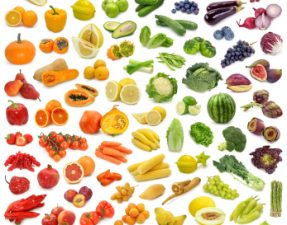 JVS image - colourful fruit and vegetables