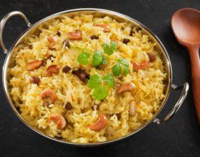 Cashew and Coriander Rice