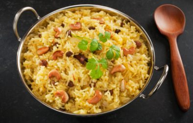 Cashew and Coriander Rice