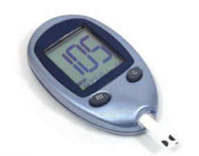 Diabetes blood testing kit