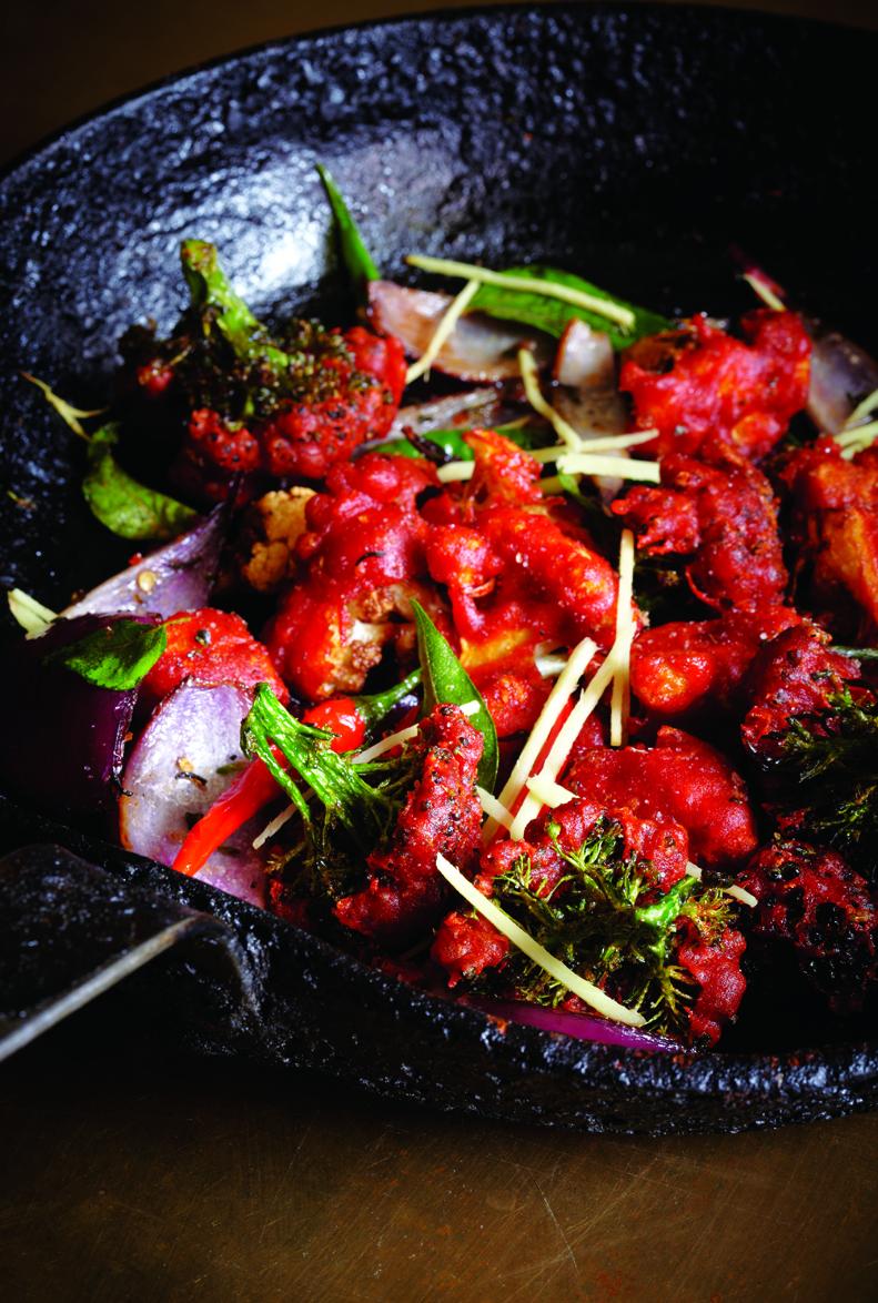 Cauliflower and Broccoli Stir-Fry