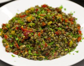 Zesty Puy Lentil Salad