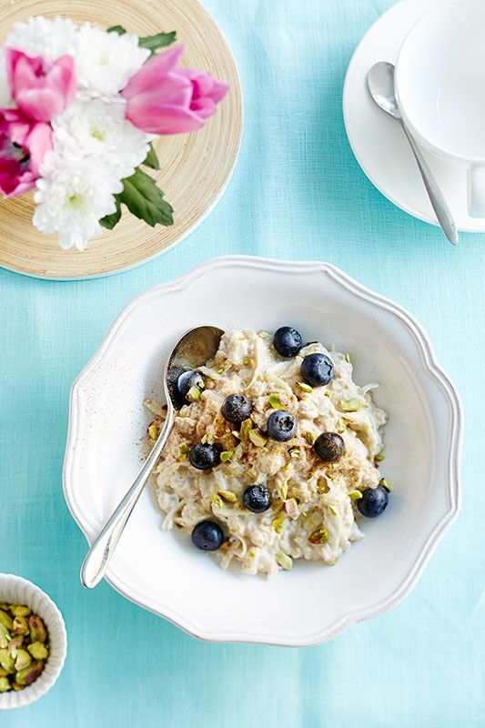 Blueberry bircher