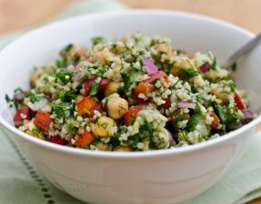 Bulgur-Salad-with-Dill-Vegetables-and-Chick-Peas-575x376