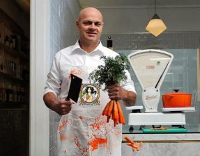 Vegetarian butchers are growing, and Jaap Korteweg, founder of The Vegetarian Butcher, is leading the way CREDIT: THE VEGETARIAN BUTCHER