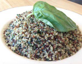Quinoa-Pesto