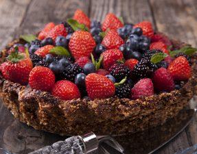 Berry and Almond Tart 1b