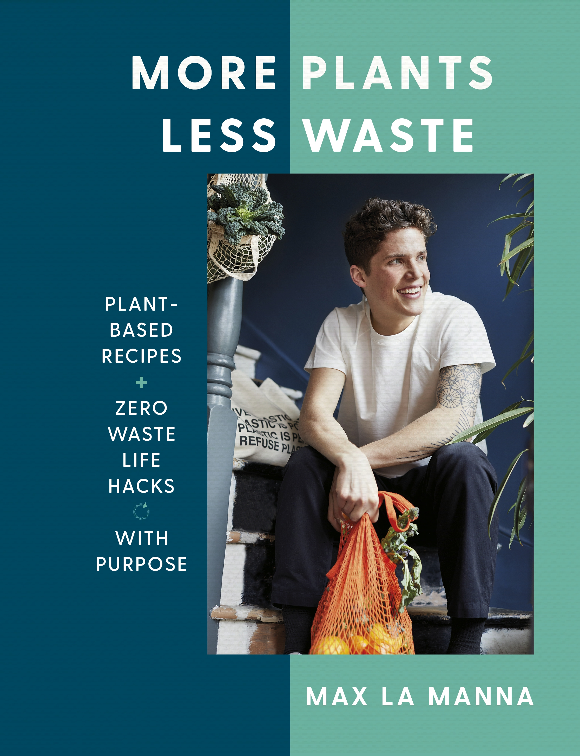 More Plants Less Waste jacket