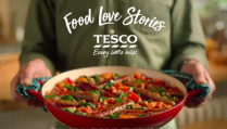 The new ad has been called 'brave' (Photo: Tesco)