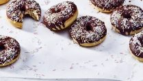 Chocolate-Glazed Doughnuts_p262
