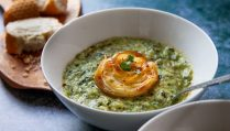 Leek potato cavalo nero soup small