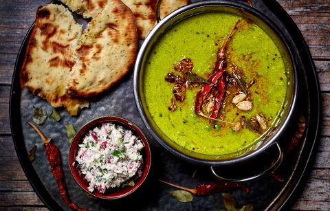 Pea Dal and Coconut Chutney (2)