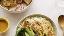 Miso Tasty Firm Tofu - Baked Miso Tofu Rice Bowl Nov 202010180