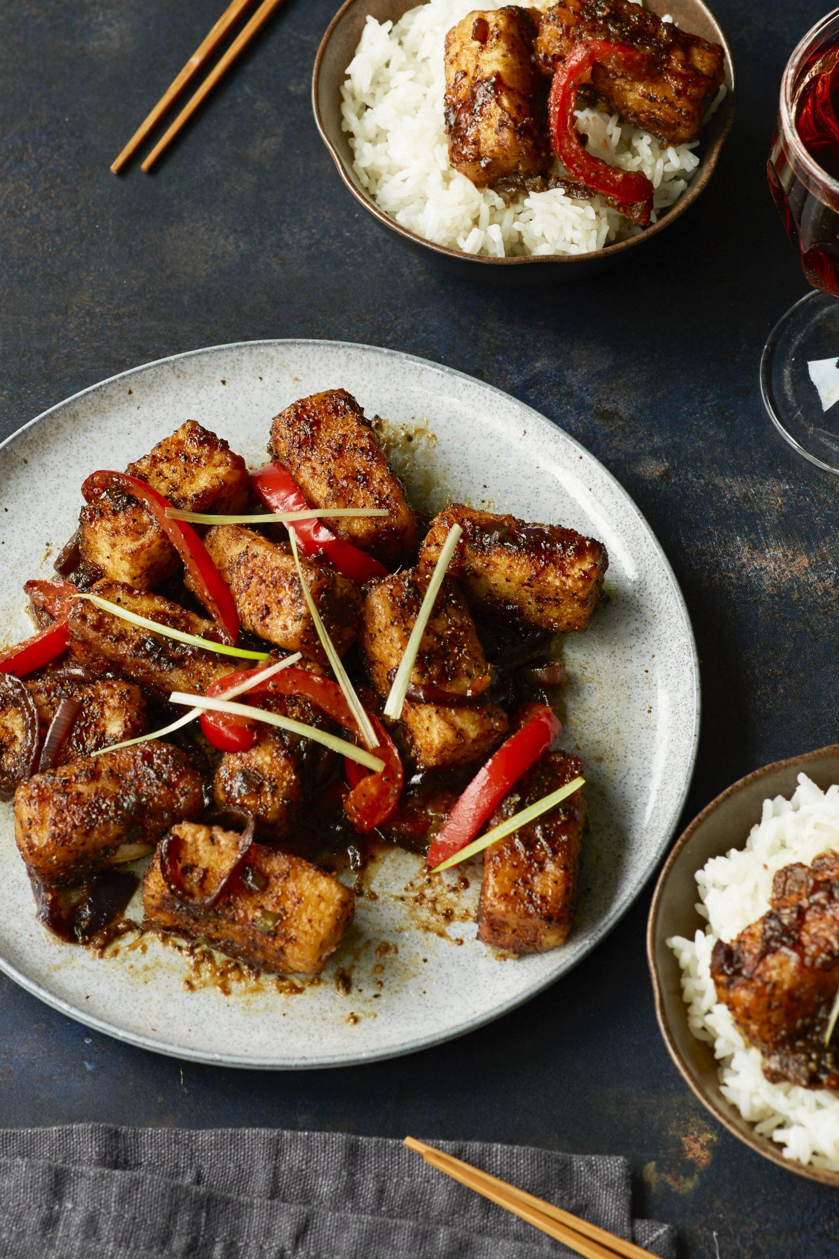 Miso Tasty Firm Tofu - Sweet Soy Black Pepper Tofu Nov 202010213